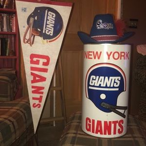 New York Giants memorabilia